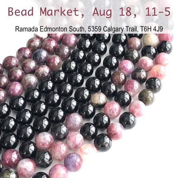 Bead Market Edmonton, Aug 18, 2018