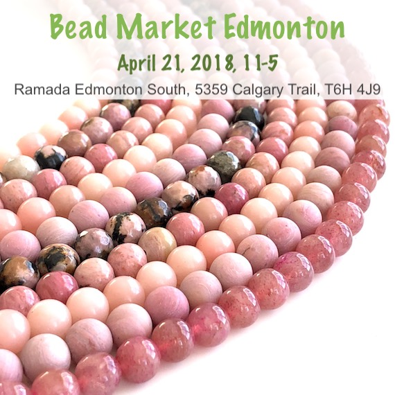 Bead Market Edmonton, April 21, 2018