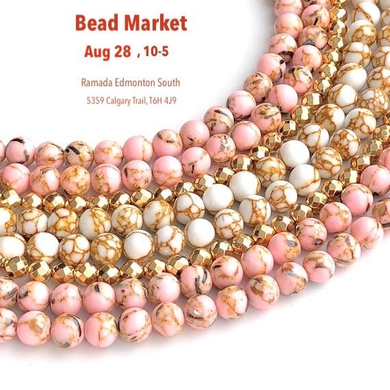 Bead Market Edmonton, Aug 28, 2021