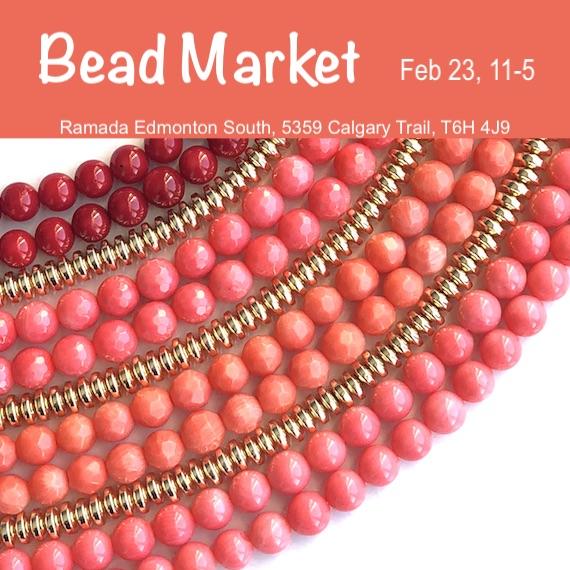 Bead Market Edmonton, Feb 23, 2019
