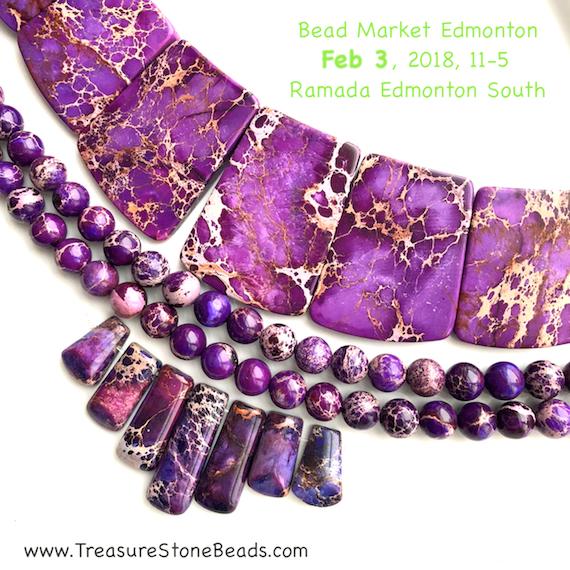 Bead Market Edmonton, Feb 3, 2018