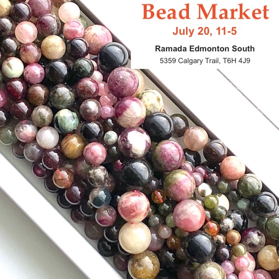 Bead Market Edmonton, July 20, 2019