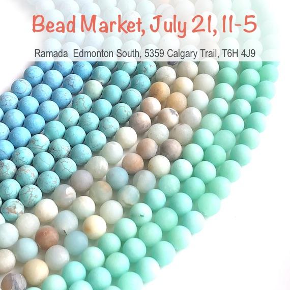 Bead Market Edmonton, July 21, 2018