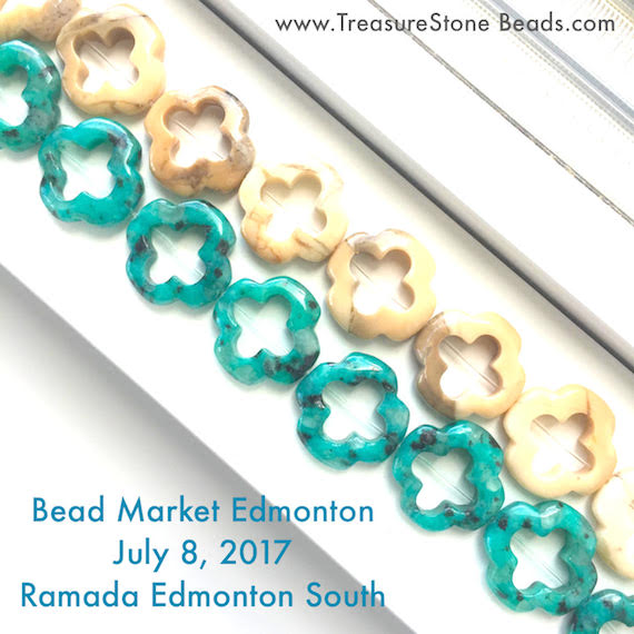 Bead Market Edmonton, July 8, 2017