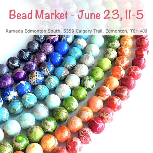 Bead Market Edmonton, June 23, 2018