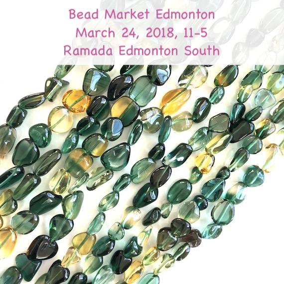 Bead Market Edmonton, March 24, 2018