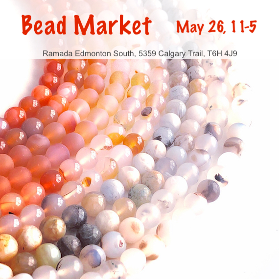 Bead Market Edmonton, May 26, 2018