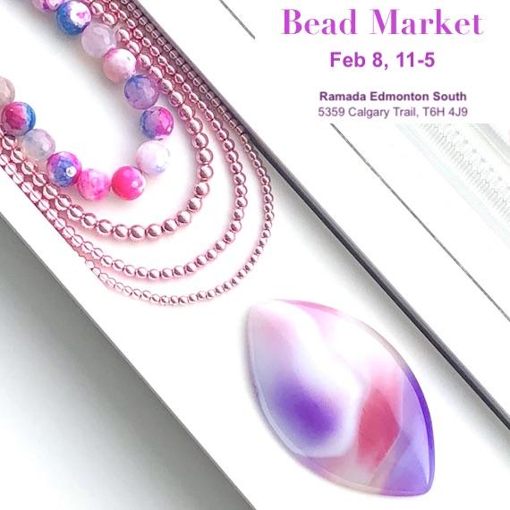 Bead Market Edmonton, FEB 8, 2020