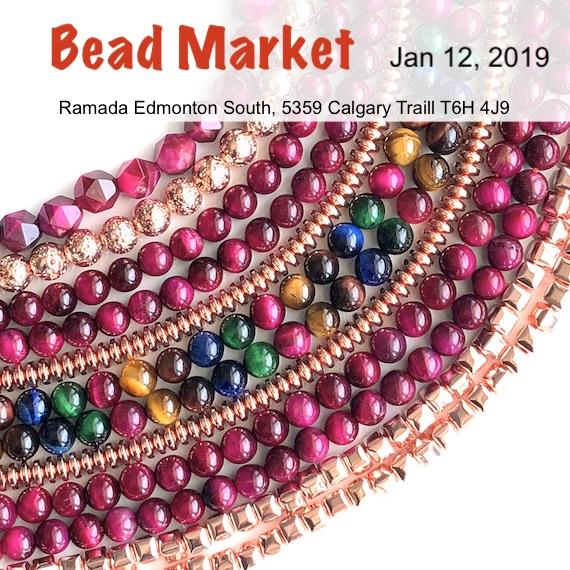 Bead Market Edmonton, Jan 12, 2019