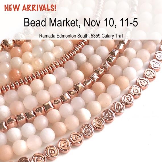 Bead Market Edmonton, Nov 10, 2018