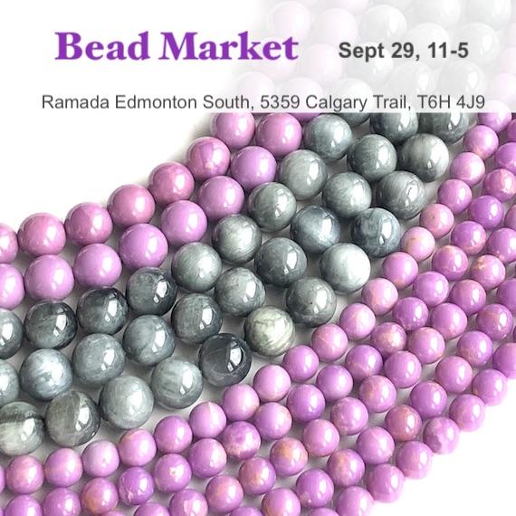 Bead Market Edmonton, Sept 29, 2018