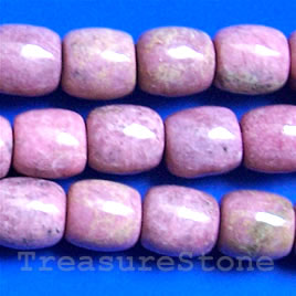 Bead, rhodonite, drum, 12mm, 16-inch strand