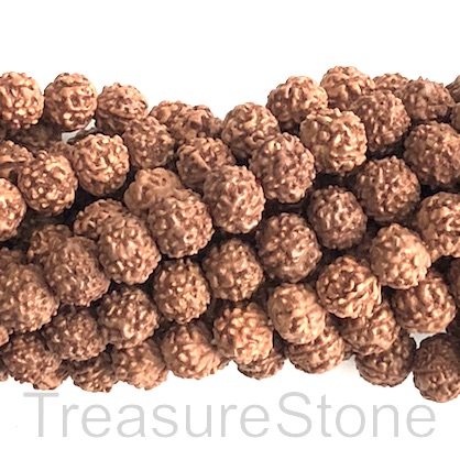 Bead, Rudraksha seed, around 7mm round. pack of 108pcs.