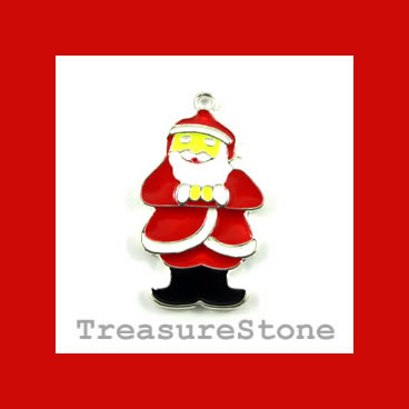 Pendant, 19x29mm Santa Claus. Each.