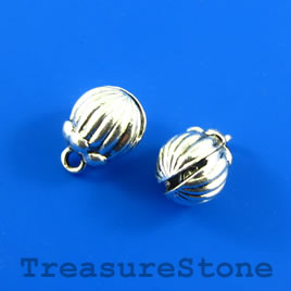 Charm/Pendant, 13mm bell. Pack of 2.