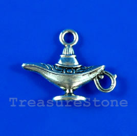 Pendant/charm, 14x22mm pitcher. Pkg of 8.