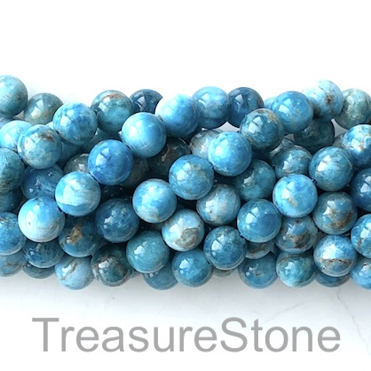 Bead, apatite, 10mm round. 15.5 inch, 39pcs.