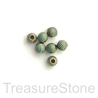 Patina-finished Beads & Cones