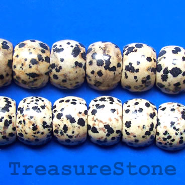 Bead,dalmatian Jasper,13x18mm double-drilled. Sold per pkg of 30
