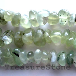 Bead, prehnite, 18mm tumbled nugget.15.5-inch strand.
