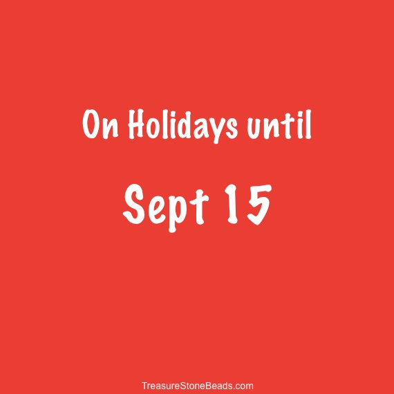 On holidays until Sept 15, 2019