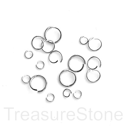 Stainless Steel Pins, Jump Rings