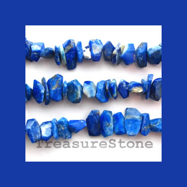 Bead, Lapis Lazuli, mixed, about 5x11mm, 15.5-inch strand