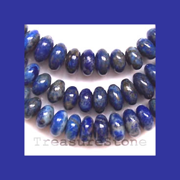 Bead, lapis, 6mm round. 16 inch strand. - Click Image to Close
