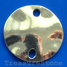 Pendant, silver-finished, 50mm. Sold individually.