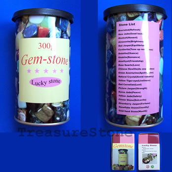 Lucky gem jar