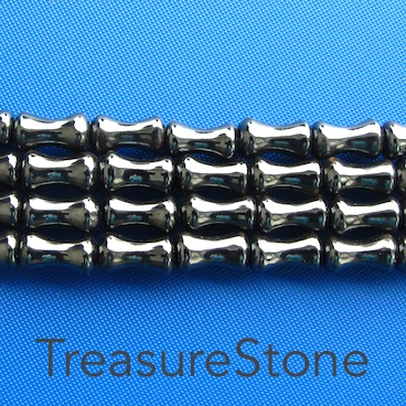 Bead, Magnetic, 6x9mm bamboo. super power. 19 inch.