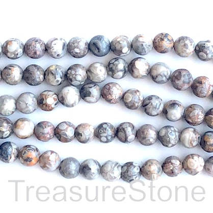 Bead, medical stone, 10mm round. 15.5-inch, 37pcs