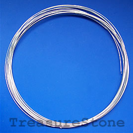Memory wire, stainless Steel, 2-1/4 inch, 0.6mm thick,18 loops