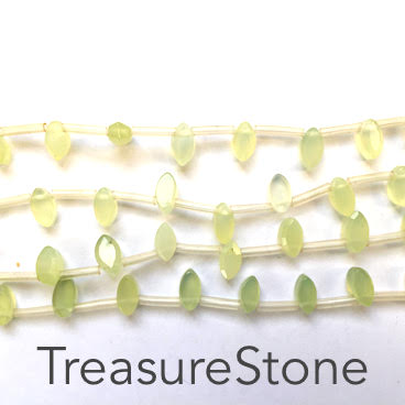 Bead, new jade, 4x9mm top-drilled. 30pcs