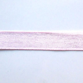 Organza ribbon, light pink, 11mm wide. Pkg of 6 meters.
