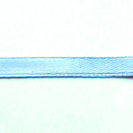 Ribbon, velvet and nylon, aquamarine, 7mm wide. Pkg of 7 meters