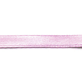 Ribbon, velvet and nylon,light pink, 7mm wide. Pkg of 7 meters