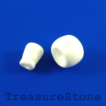 Bead, shell, 12mm Guru bead set. each set, 2 pcs.