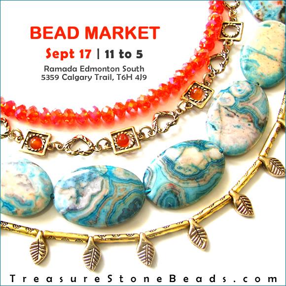 Bead Market Edmonton, Sept 17, 2016