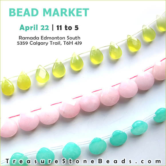 Bead Market Edmonton, Oct 29, 2016