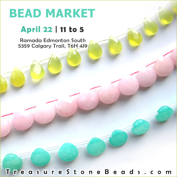 Bead Market Edmonton, April 22, 2017
