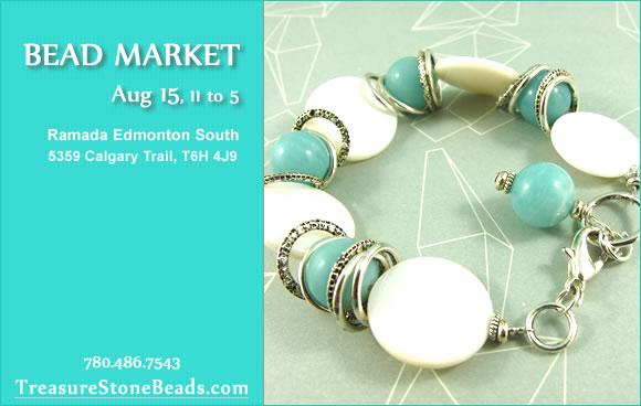Bead Market Edmonton, July 25